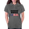 House Music USA Womens Polo
