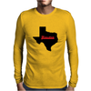 Houston Texas Mens Long Sleeve T-Shirt