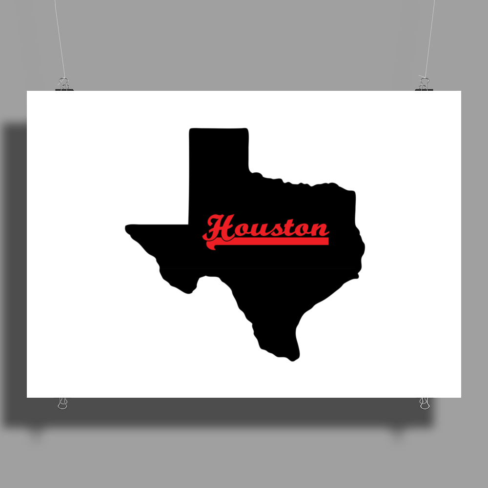 Houston Texas Poster Print (Landscape)