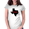 Houston Texas Womens Fitted T-Shirt
