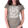 Hovercars Are the Futur Womens Fitted T-Shirt