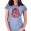 Howard Philips Lovecraft Cthulhu Blood Womens Fitted T-Shirt