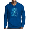 Howard Philips Lovecraft Cthulhu Blue Mens Hoodie