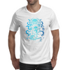 Howard Philips Lovecraft Cthulhu Blue Mens T-Shirt