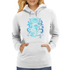 Howard Philips Lovecraft Cthulhu Blue Womens Hoodie