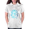 Howard Philips Lovecraft Cthulhu Blue Womens Polo