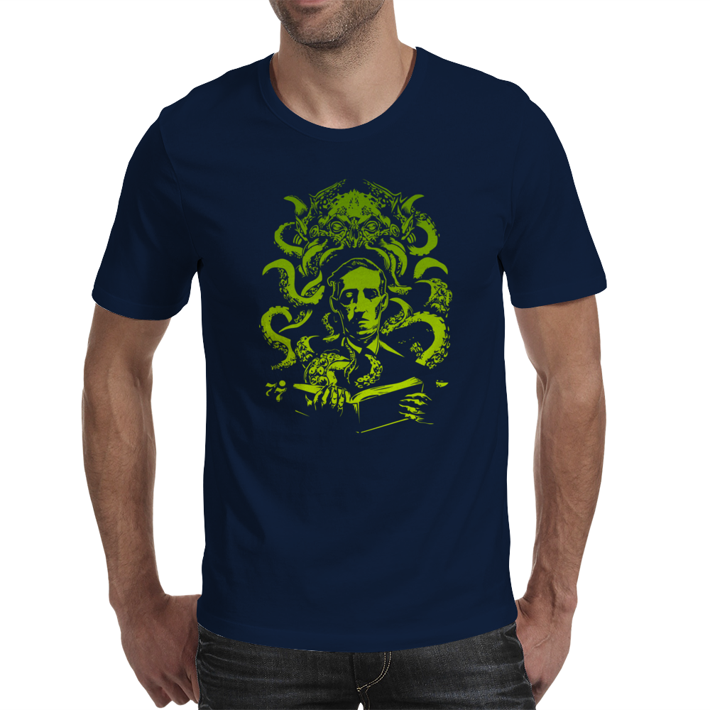 Howard Philips Lovecraft Cthulhu Mens T-Shirt