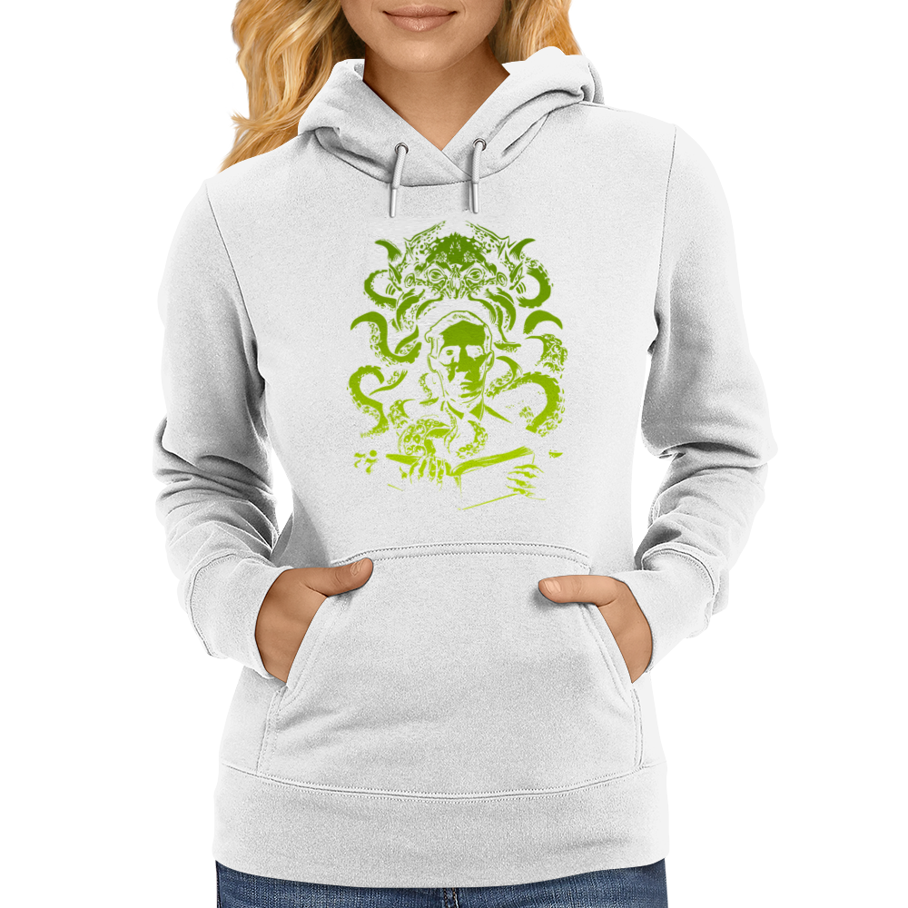 Howard Philips Lovecraft Cthulhu Womens Hoodie