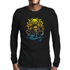 Howard Philips Lovecraft Cthulhu Yelow Mens Long Sleeve T-Shirt