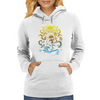 Howard Philips Lovecraft Cthulhu Yelow Womens Hoodie