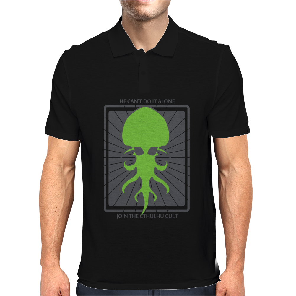 HP Lovecraft Cthulhu 2 Mens Polo