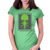 HP Lovecraft Cthulhu 2 Womens Fitted T-Shirt