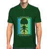 HP Lovecraft Cthulhu 3 Mens Polo