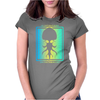 HP Lovecraft Cthulhu 3 Womens Fitted T-Shirt