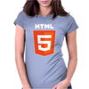 Html 5 Web Designer Computer Womens Fitted T-Shirt