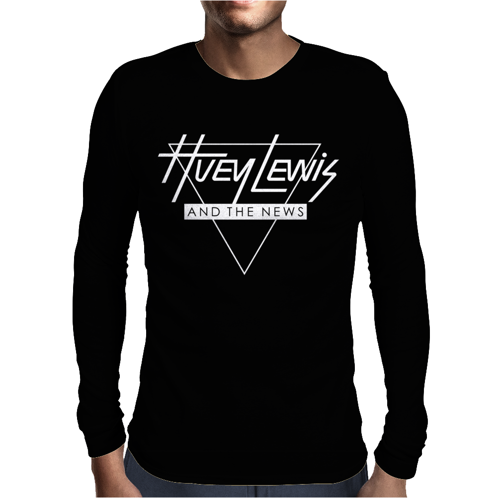 Huey Lewis & The News Mens Long Sleeve T-Shirt