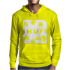 Huf White Wasted Mens Hoodie