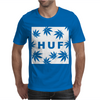 Huf White Wasted Mens T-Shirt