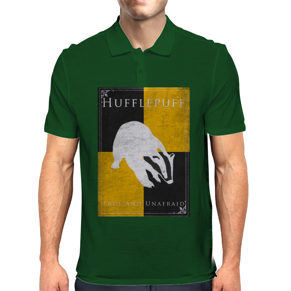 Hufflepuff Game of Thrones Banner Mens Polo
