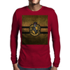 Hufflepuff Knitted Mens Long Sleeve T-Shirt