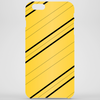 Hufflepuff Silk Stitching Phone Case