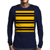 Hufflepuff Stripes - Thick Mens Long Sleeve T-Shirt