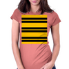 Hufflepuff Stripes - Thick Womens Fitted T-Shirt