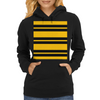 Hufflepuff Stripes - Thick Womens Hoodie