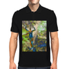 Hug A Tree Mens Polo