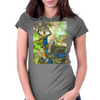 Hug A Tree Womens Fitted T-Shirt