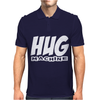 Hug Machine Funny Joke Mens Polo