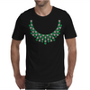 Hugs and Kisses Emerald and Diamond Necklace Mens T-Shirt