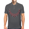 Hugs and Kisses Ruby and Diamond Necklace Mens Polo