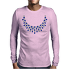 Hugs and Kisses Sapphire and Diamond Necklace Mens Long Sleeve T-Shirt