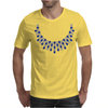 Hugs and Kisses Sapphire and Diamond Necklace Mens T-Shirt