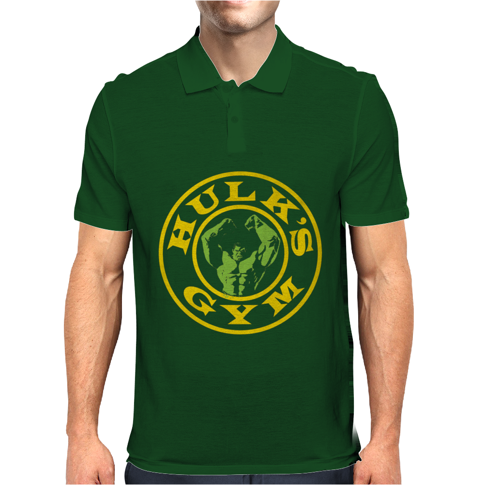 Hulk's Gym Mens Polo