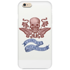 human skull  design with wings Phone Case