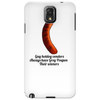 humor ,funny,laughter ,smile gay hotdog vendors Phone Case