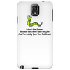 HUMOR ,FUNNY,LAUGHTER ,SMILE I don't like snakes Phone Case