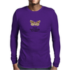 HUMOUR FUNNY A MOTH IS JUST A BUTTERFLY ON WELFARE Mens Long Sleeve T-Shirt