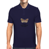 HUMOUR FUNNY A MOTH IS JUST A BUTTERFLY ON WELFARE Mens Polo