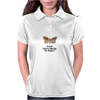 HUMOUR FUNNY A MOTH IS JUST A BUTTERFLY ON WELFARE Womens Polo