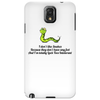 humour funny comedy I don't like snakes Phone Case
