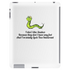 humour funny comedy I don't like snakes Tablet