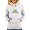 humour funny comedy I don't like snakes Womens Hoodie