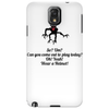 HUMOUR FUNNY LAUGH SO UM? CAN YOU COME OUT AND PLAY TODAY? OH! YEAH! WEAR A HELMET! Phone Case