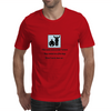 humour ,funny, laughter, smile ,crazy, hilarious, satire,silly Mens T-Shirt