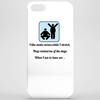 humour ,funny, laughter, smile ,crazy, hilarious, satire,silly Phone Case