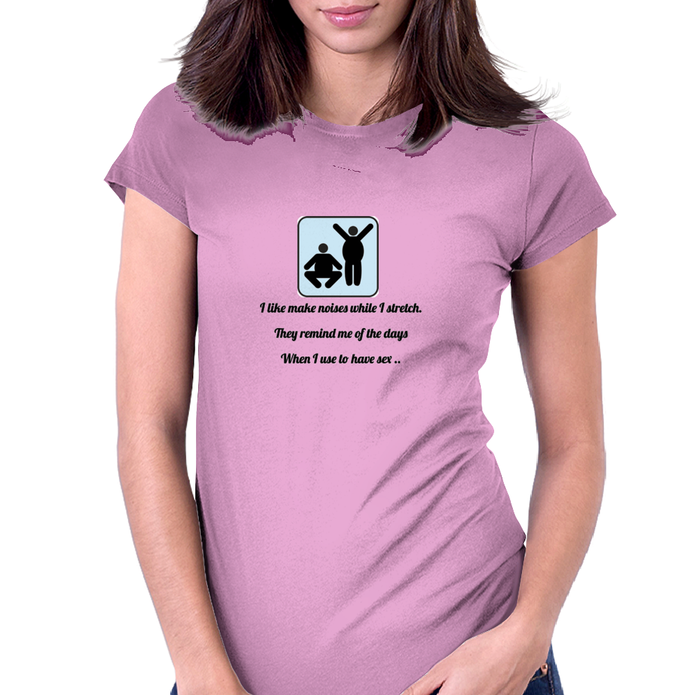 humour ,funny, laughter, smile ,crazy, hilarious, satire,silly Womens Fitted T-Shirt