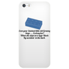 HUMOUR FUNNY SATIRE EVEN YOUR SAINTED OLD GRANNY SAYS ,,COCKSUCKER! WHEN SHE STEPS ON A LEGO BLOCK Phone Case